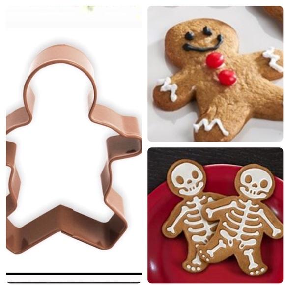XL Copper Gingerman Cookie Cutter